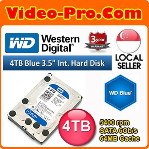 WD Blue 4TB 3 5-inch Desktop Hard Disk Drive 5400 RPM SATA 6