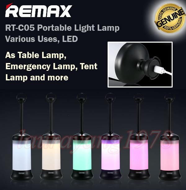 Price Comparisons Remax Rt C05 Portable Led Lamp Light Lights Emergency Bedside Table Camping Tent