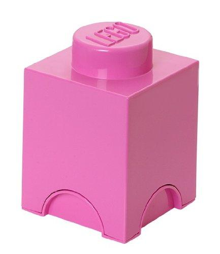 LEGO Storage Brick 1 (Bright Pink)