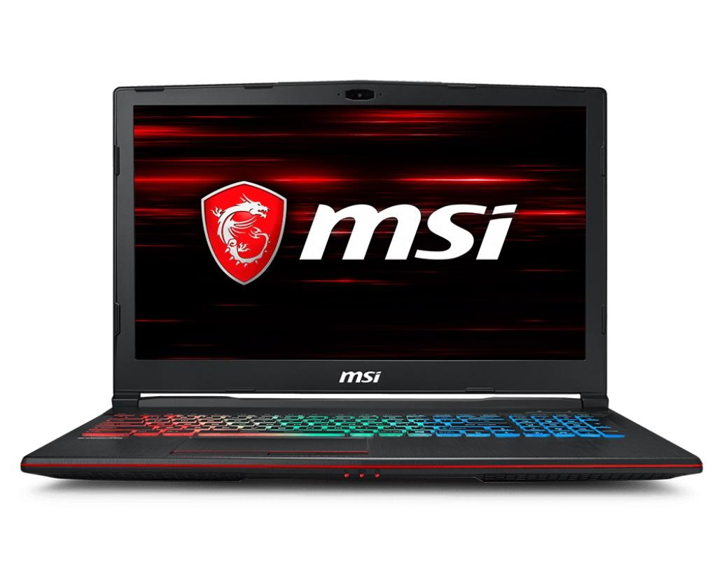 MSI GL63R 8RC 9S7-16P612-267 4719072578770 15.6 FHD Coffeelake i5-8300H+HM370 DDR IV 4GB*1 128GB SSD +1TB (SATA) 7mm Windows® 10 Home Plus without ODD