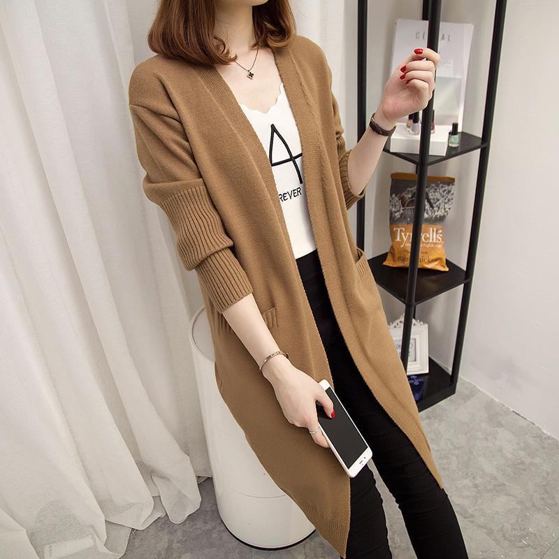 Rui awal 2018 model baru baju wanita musim semi sweater Jaket wanita netral  model setengah panjang 25ce6fb1b2