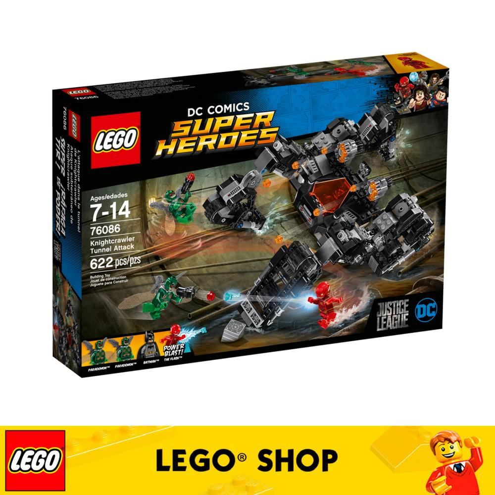 Review Lego® Super Heroes Knightcrawler Tunnel Attack 76086 On Singapore
