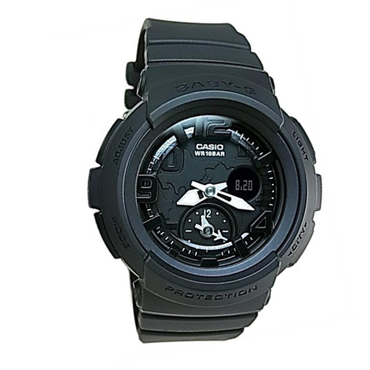 Where To Shop For Casio Casio Baby G Black Resin Case Resin Strap Ladies Bga 190Bc 1B