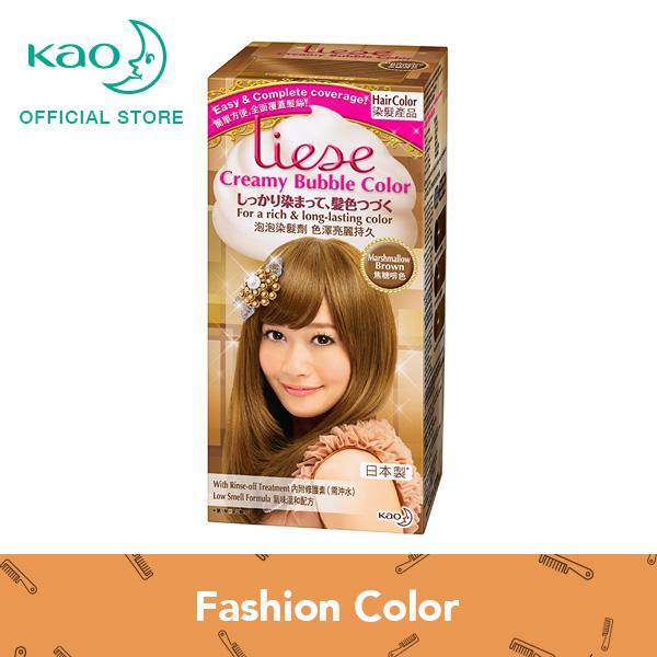 How To Get Liese Creamy Bubble Color Marshmallow Brown