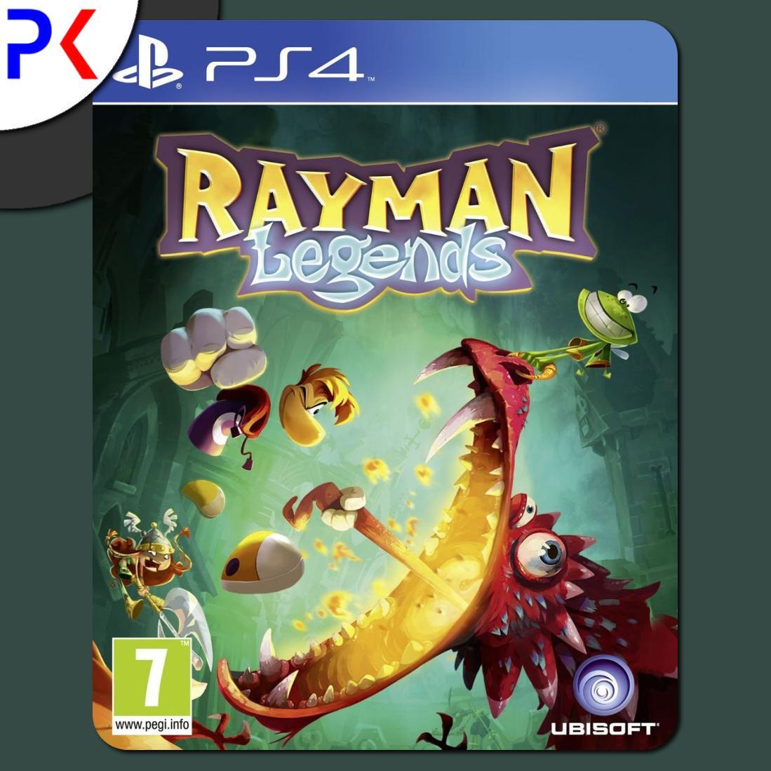 Recent Ps4 Rayman Legends R2