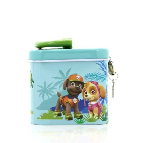 List Price Paw Patrol Jungle Patrol Kidztime X Tin Coin Bank No Brand