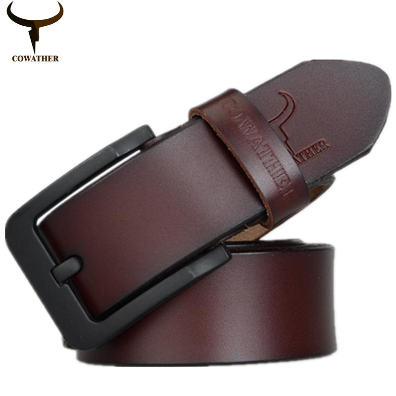 Where To Shop For Cowather Men S Belt 100 Cow Genuine Leather Reversible Ratchet Belts With Male Pin Buckle Strap Dress Belt 1 1 2