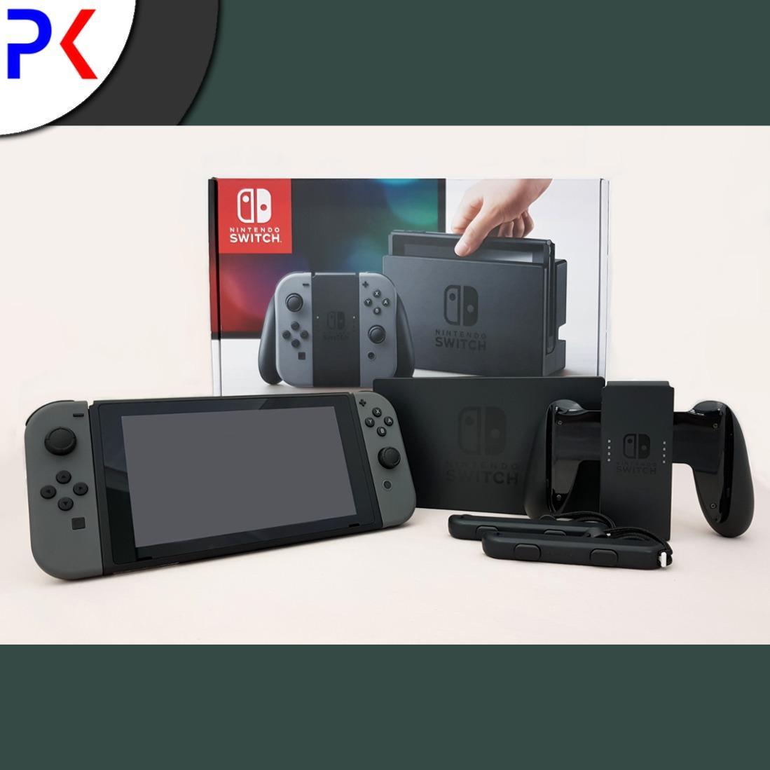 Sale Nintendo Switch Console With Grey Joy Con Export Nintendo