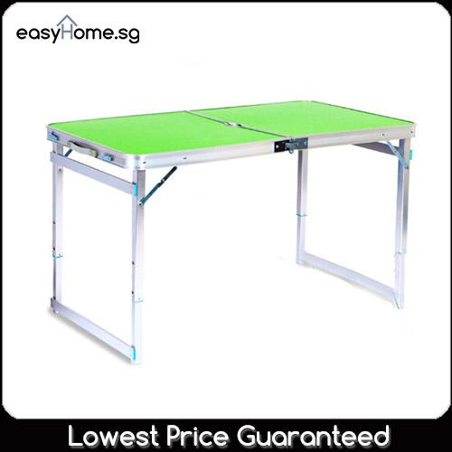 Compare Prices For Heavy Duty 120Cm X 60Cm Portable Foldable Aluminium Table