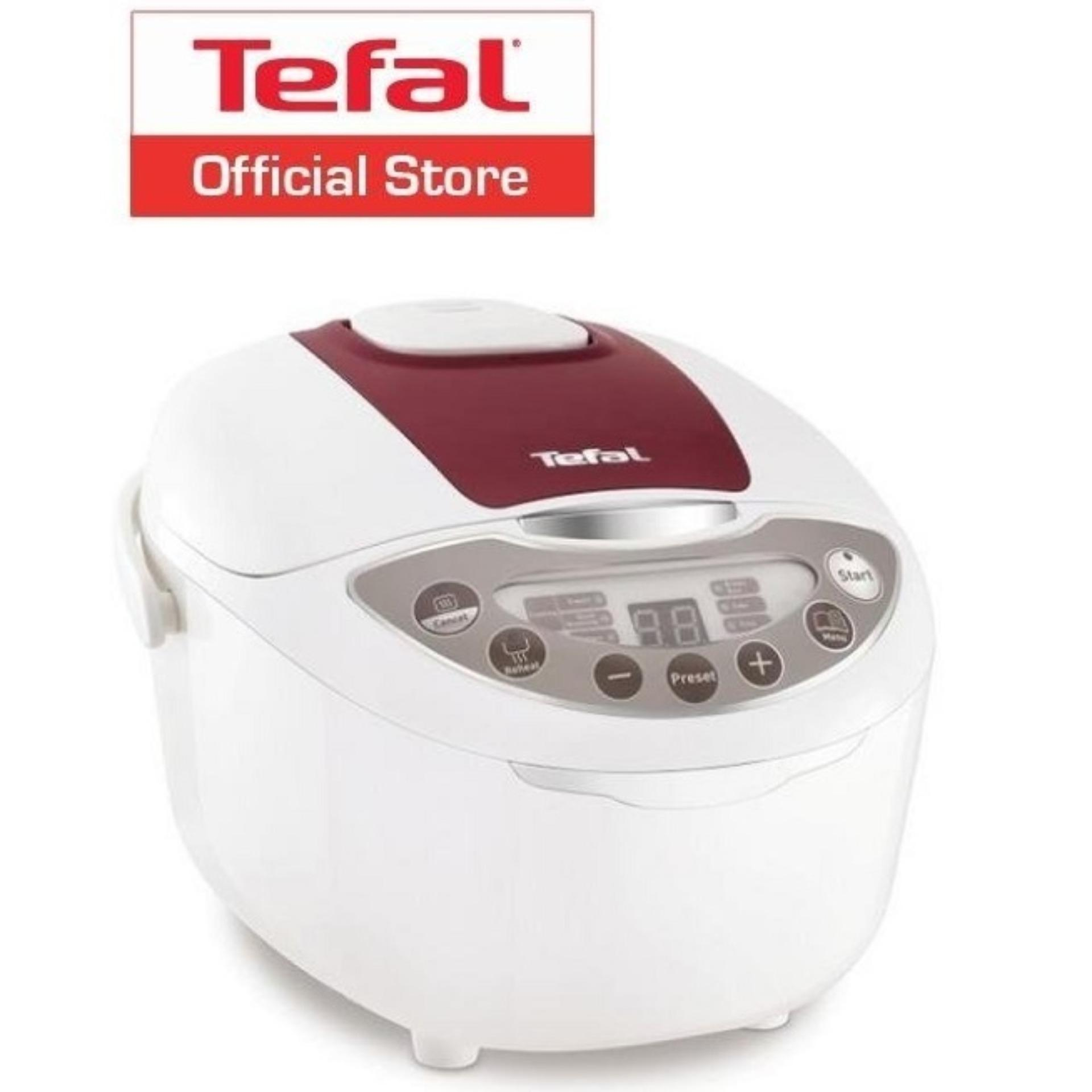 Where Can You Buy Tefal 6 Program Fuzzy Logic Rice Cooker 1 8L Rk7035