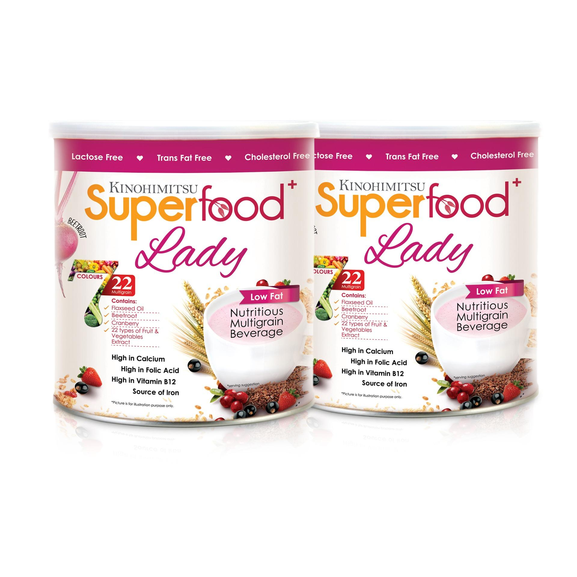 Review Kinohimitsu Superfood Lady 500G Twin Pack Kinohimitsu On Singapore
