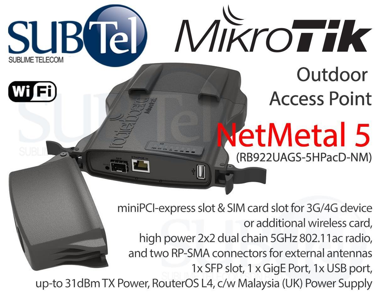Mikrotik Buy At Best Price In Singapore Rb 941 2nd Hap Lite Rb922uags 5hpacd Nm Netmetal 5 5ghz Outdoor Access Point Lte Ptp Bridge