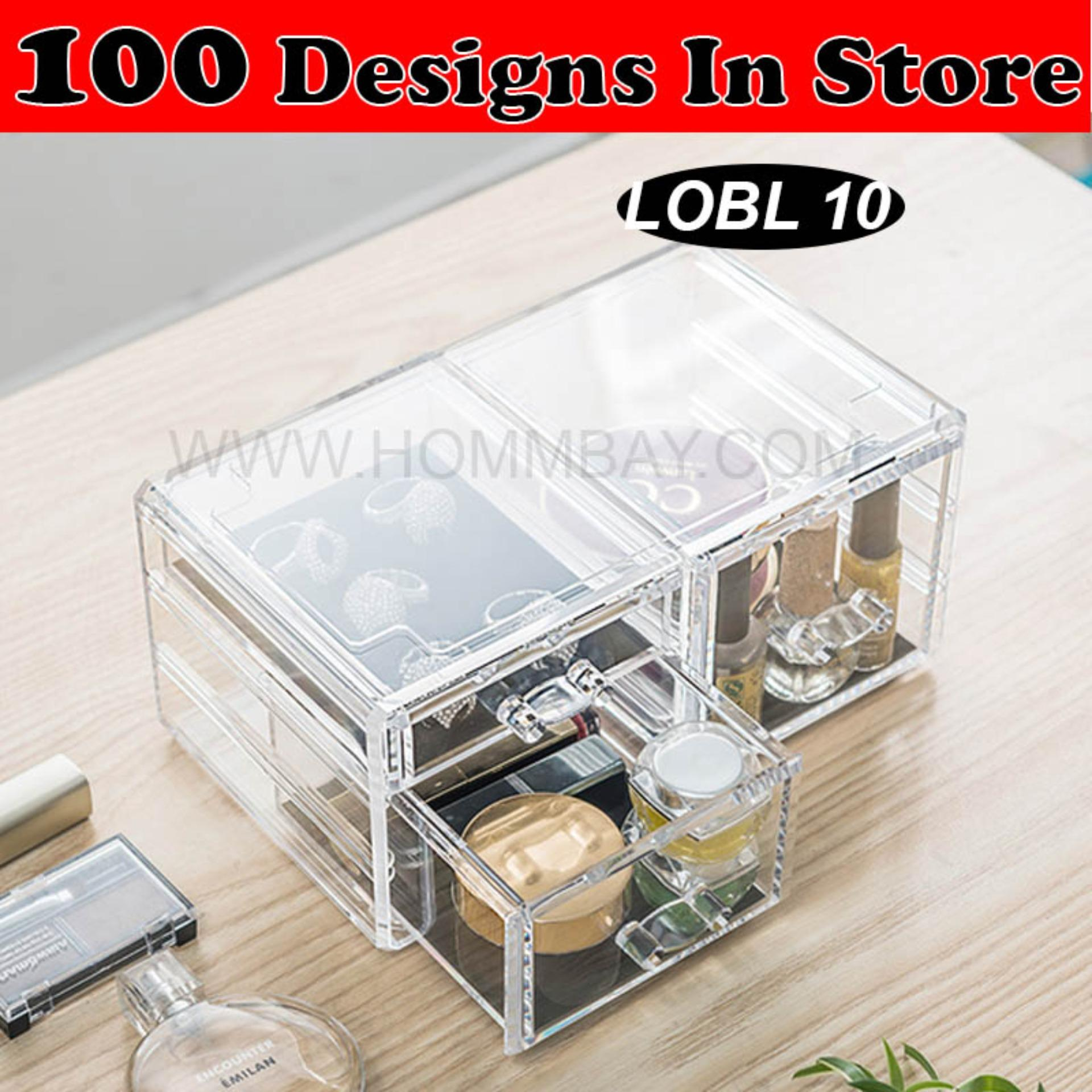 Clear Acrylic Transparent Make Up Makeup Lipstick Brush Brushes Cosmetic Jewellery Jewelry Organiser Organizer Drawer Storage Box Holder I Large I Stackable I Lobl 10 Coupon Code