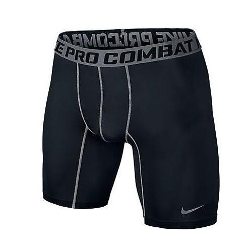 Store Nike Pro Compression 6 Inch Men S Tights Black Nike On Singapore