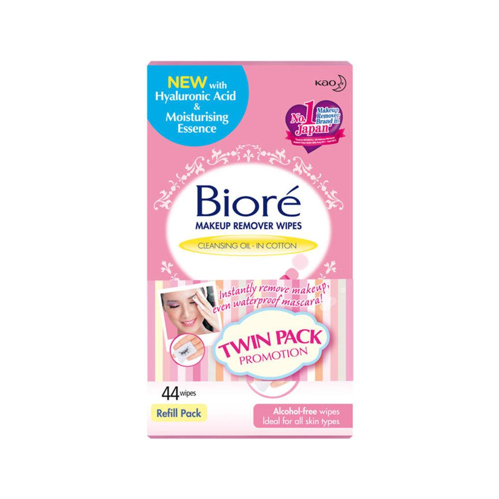 Discount Biore Make Up Remover Wipes 44S Twin Pack 2X44 S Biore On Malaysia