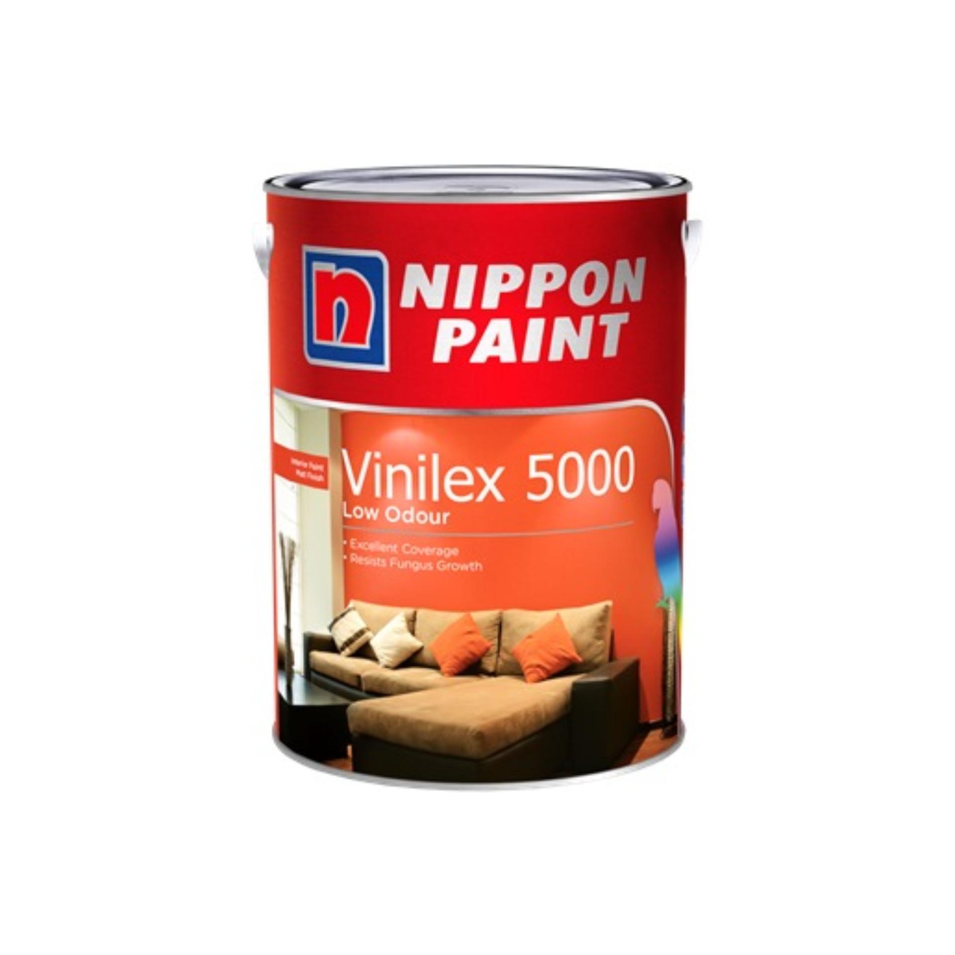Nippon Paint Vinilex 5000 - Base 3 - Harvest Dance NP PB 1443 D - 1L