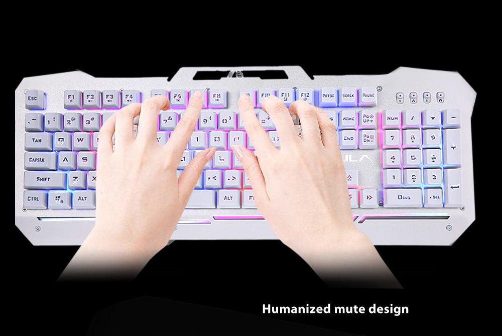 AULA USB Wired Optical Gaming Keyboard with Backlight