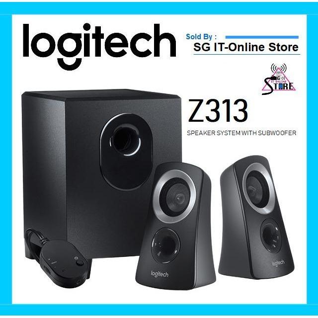 Sales Price Logitech Speaker System Z313