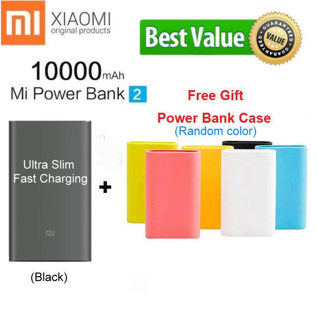 Cheap Export Xiaomi Mi Power Bank 2 10000Mah Quick Charge Portable Charger