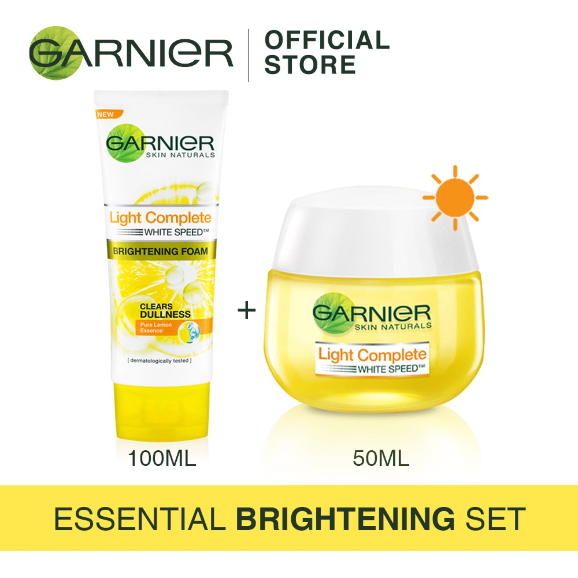 Compare Garnier Pure Active Matcha Extra Sensitive Gel 100ml Price Acne Oil Clearing Essential Brigthening Set Light Foam Day Cream 50ml
