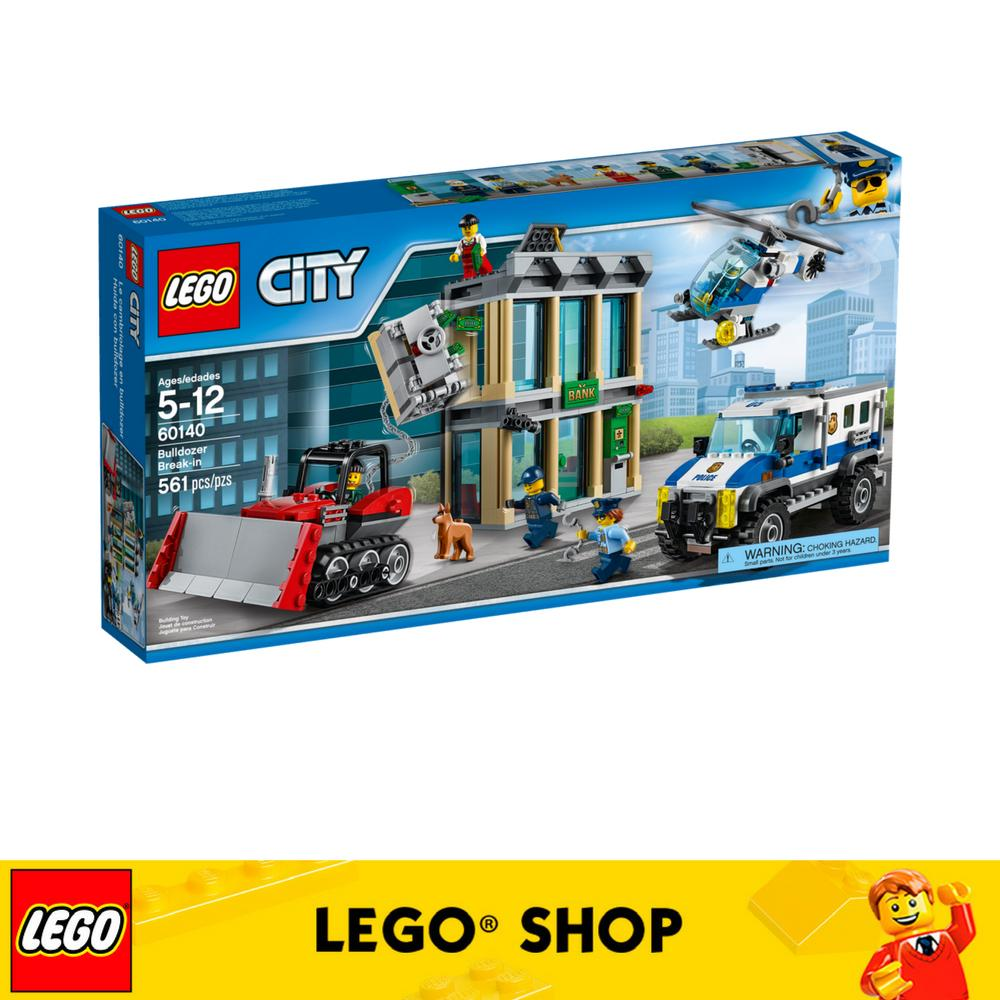 Sale Lego® City Police Bulldozer Break In 60140 Lego Branded