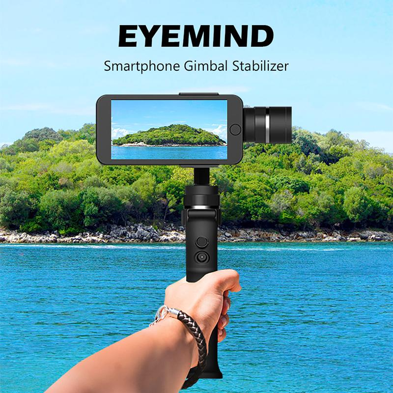 Wonderful Toy Phone Gimbal Gopros Camera Shakeproof 3 Axis Handheld Stabilizer Black Online