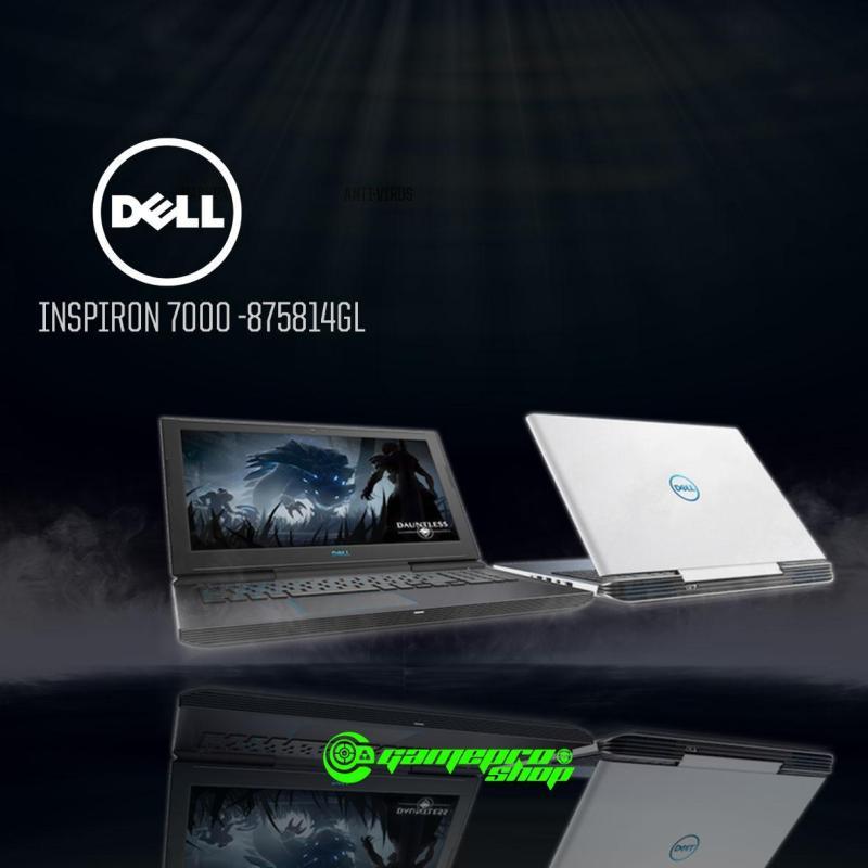 8th Gen DELL Inspiron G7- 7000 GTX 1050Ti Gaming Laptop (G7-875814GL-WH)  *NDP PROMO*