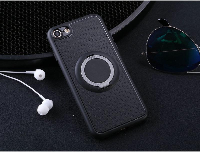 Casing untuk Huawei Enjoy 7 Plus Mobil Magnetic Braket Isap Jari Cincin Lembut TPU Penutup Belakang untuk Huawei Enjoy 7 Plus Versi Global