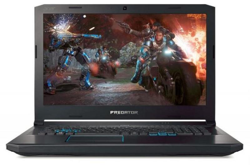 Acer Predator Helios 500 (PH517-51-79TX) - 17.3/i7-8750H/16GB DDR4/256GB SSD+1TB HDD/Nvidia GTX1070 GDDR5 VRAM/W10