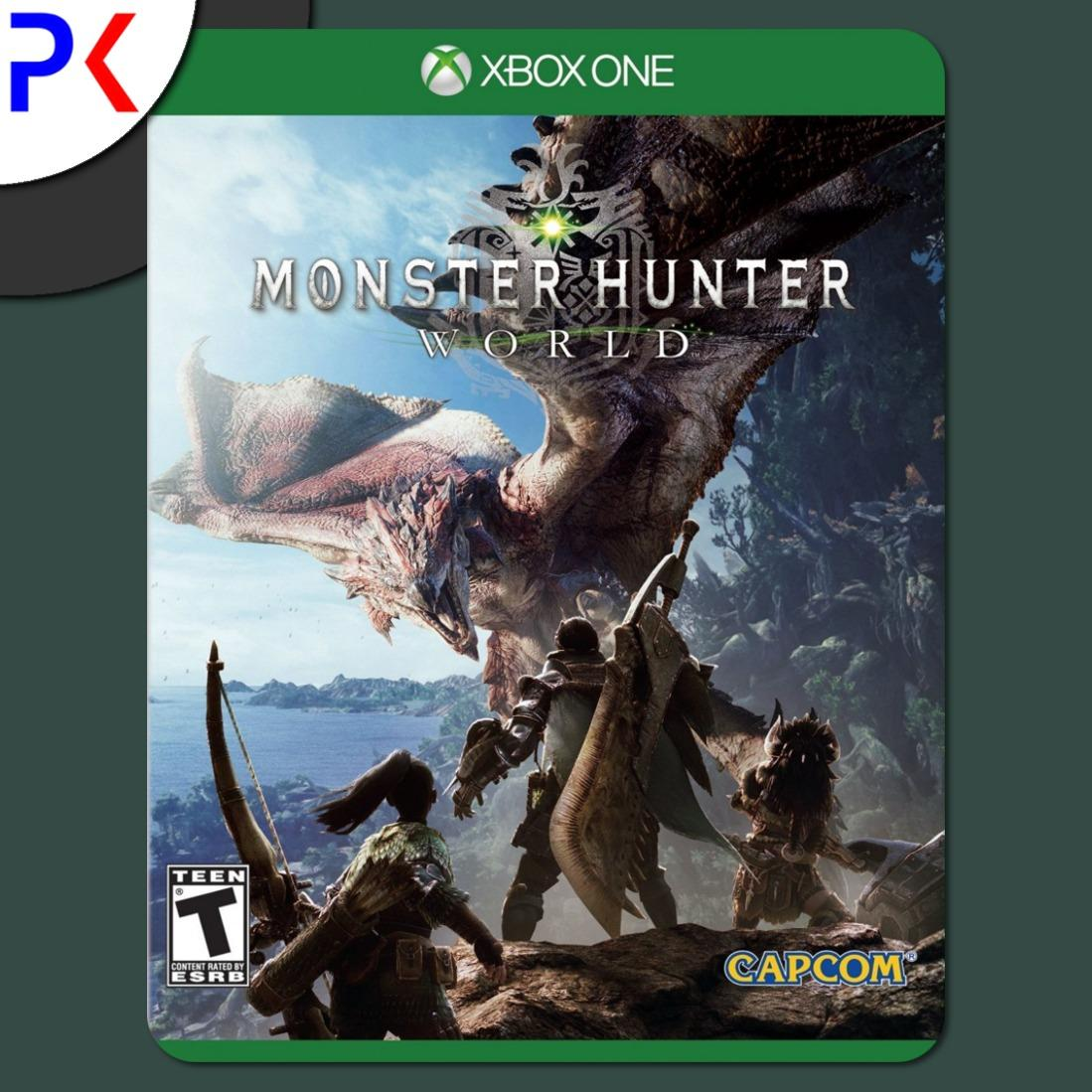Xbox One Monster Hunter World Sale