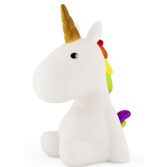 Dhink Unicorn Colour Changing LED Mood Light Night Light with Rainbow and Golden Horn for Home Decorations Kids Bedroom