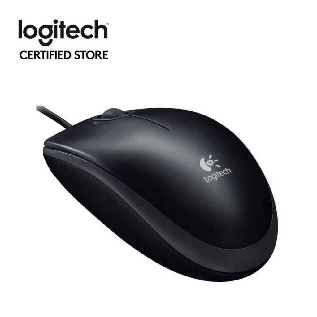 Best Price Logitech M100R Wired Usb Mouse