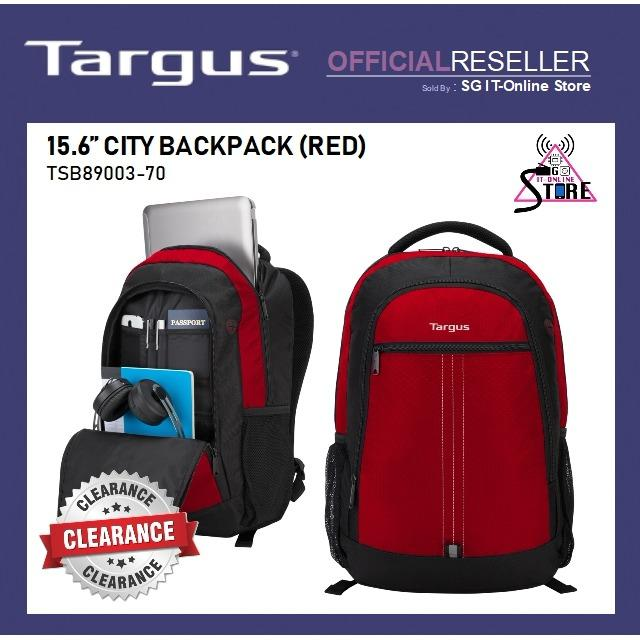 Price Targus City Backpack Red Singapore