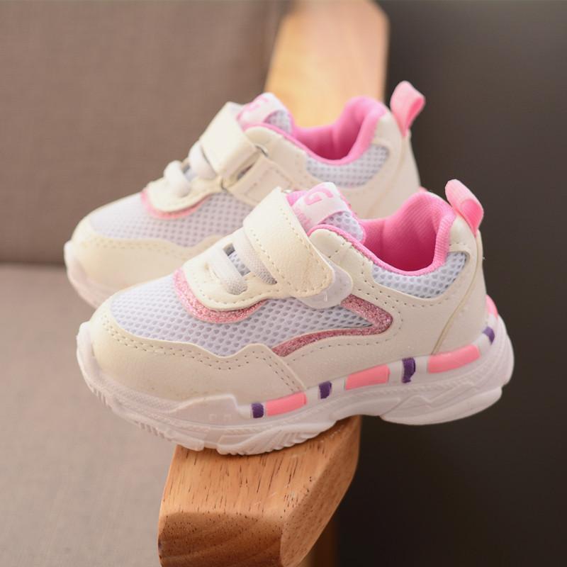 2018 Musim Gugur Model Baru Sepatu Anak Anak-anak Sepatu Olahraga Pria dan Wanita Anak