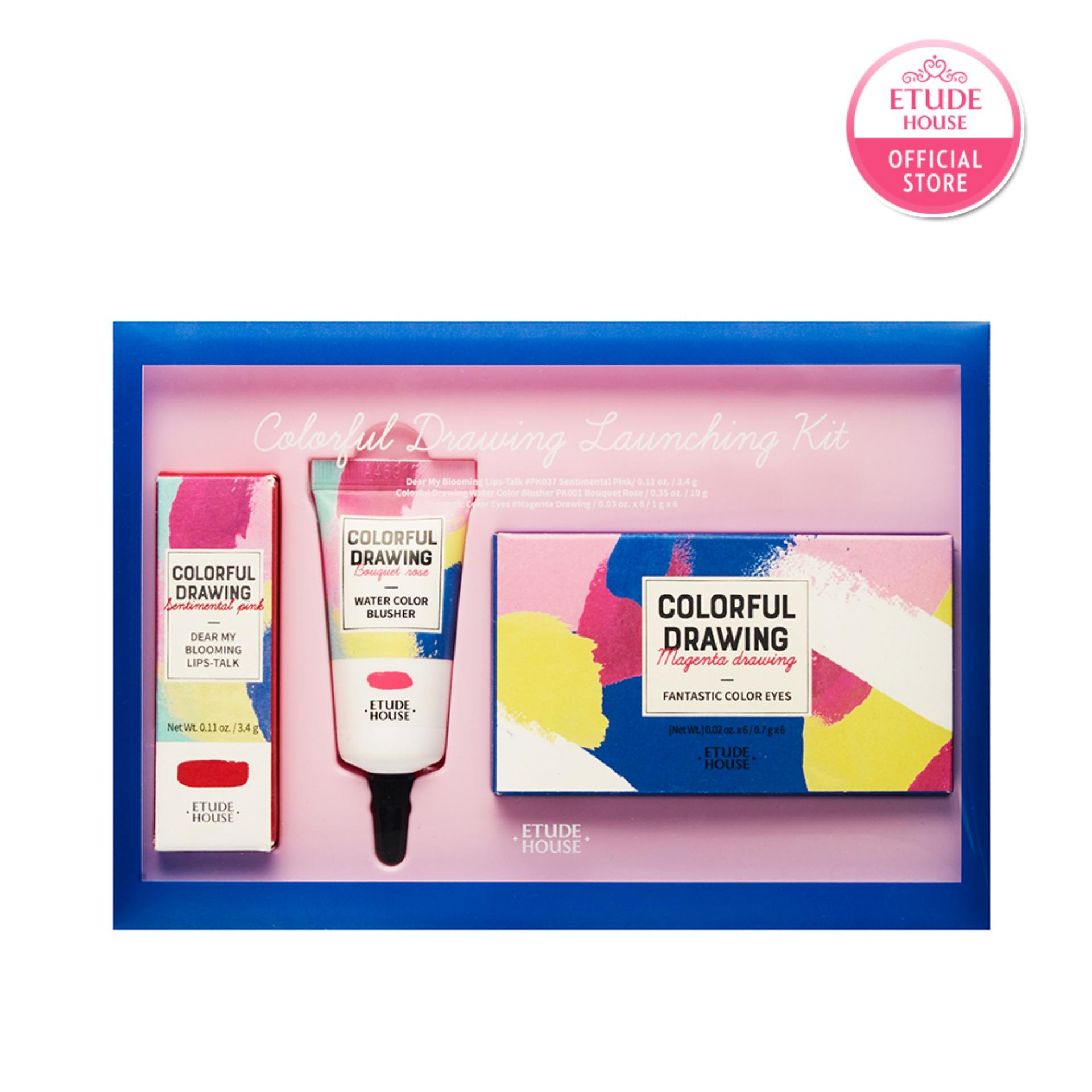 Best Offer Etude House Colorful Drawing Launching Kit