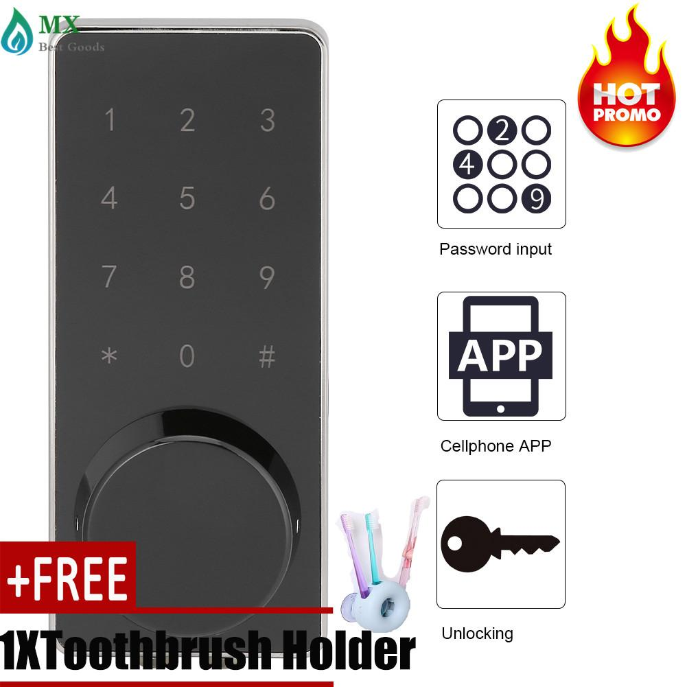 Digital Electronic Password Bluetooth Entry Door Lock Set [buy 1 get 1 free gift]