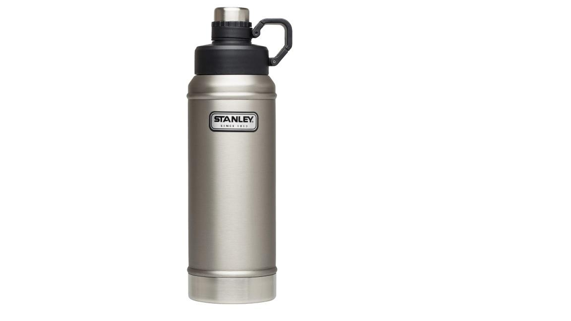 Stanley Classic Vacuum Insulated Water Bottle, Stainless Steel, 36oz(1 06L)