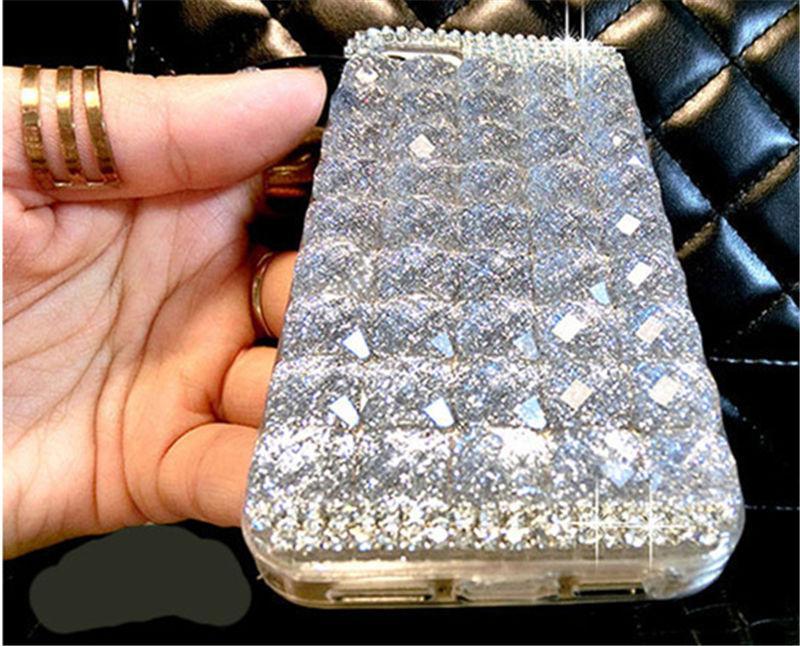 ... Untuk Oppo F7 Youth Cover Case Mewah Glitter Berlian Imitasi Berlian Kristal Case