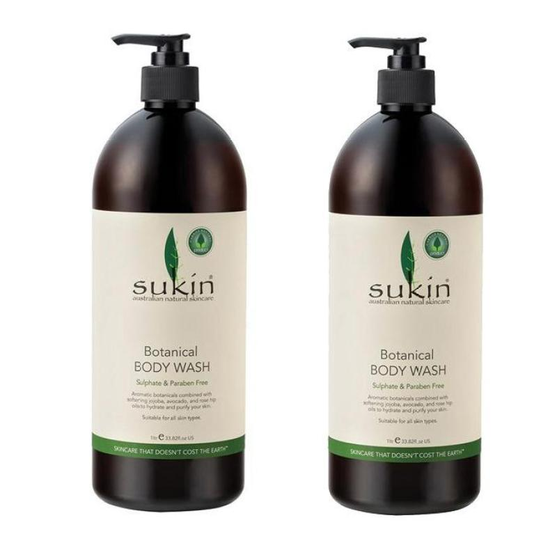 Buy Sukin Botanical Body Wash Pump (1 Litre) (2pcs) Singapore