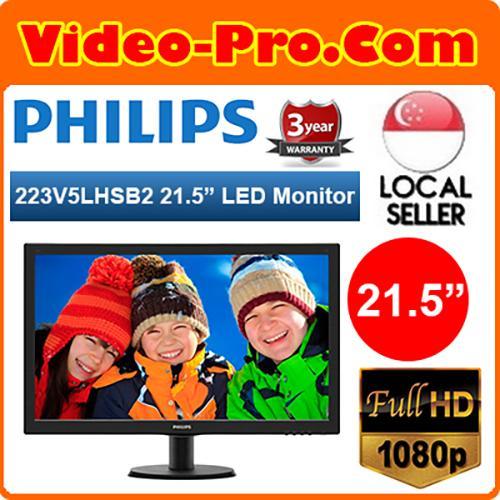 Philips 223V5LHSB2 V-Line 21.5-Inch Full HD Widescreen Monitor