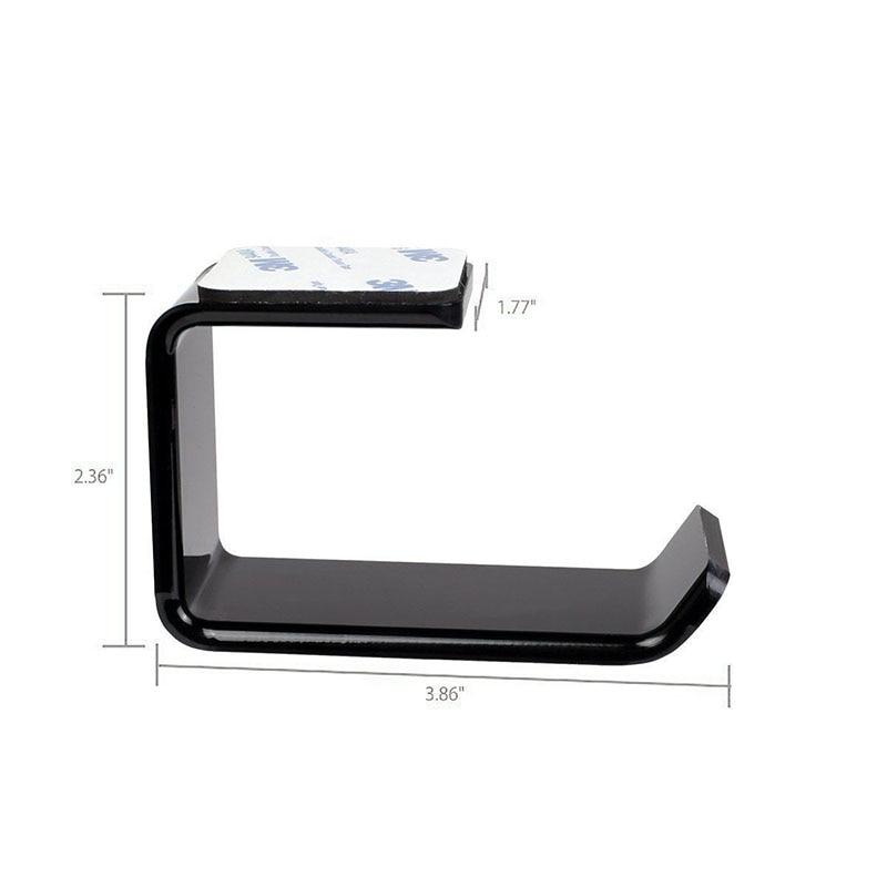 Durable Headphone Headset Holder Hanger Earphone WallDesk Display Stand Bracket Hanger Headphone Accessories (5)