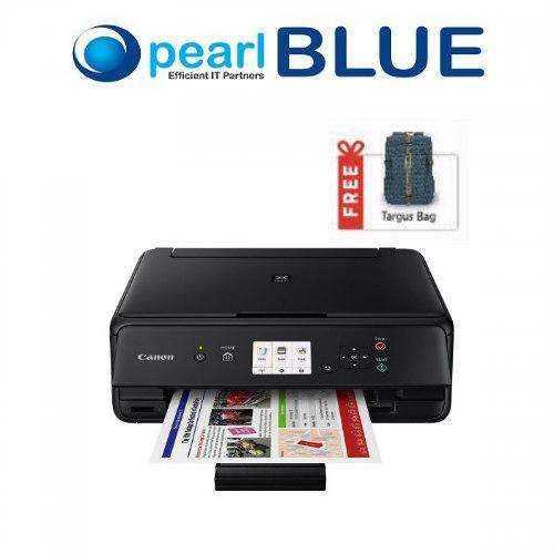 How Do I Get Canon Pixma Ts5070 Black Compact Wireless Photo All In One Printer With Mobile And Cloud Printing