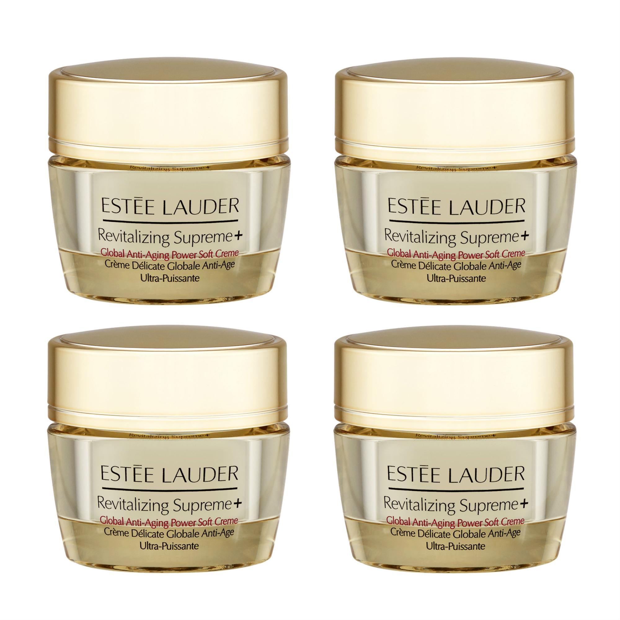 Best Price 4 X Estee Lauder Revitalizing Supreme Global Anti Aging Power Soft Creme 15Ml 5Oz Intl