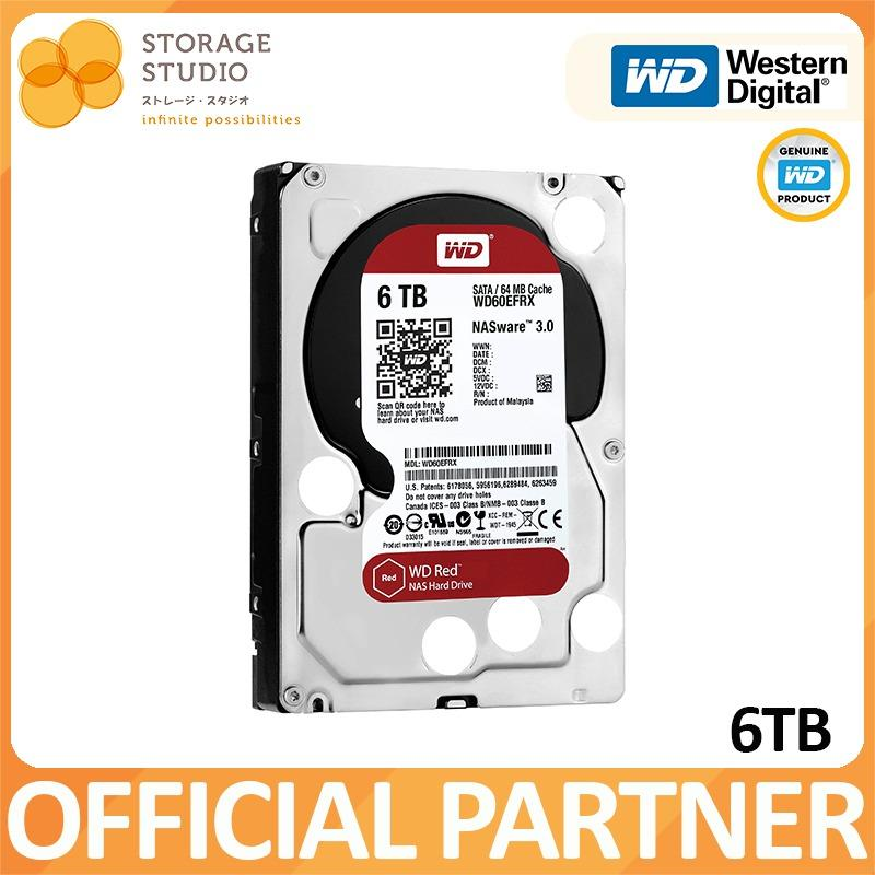 Great Deal Wd Red 6Tb Nas Hard Disk Sata 6Gbs 5400Rpm 64Mb