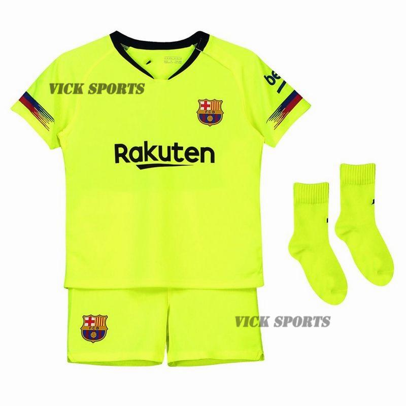 09a9e13c7b4 Vick Sports (FREE SOCKS)2019 New Season Top Quality Barcelona Home and Away  Football