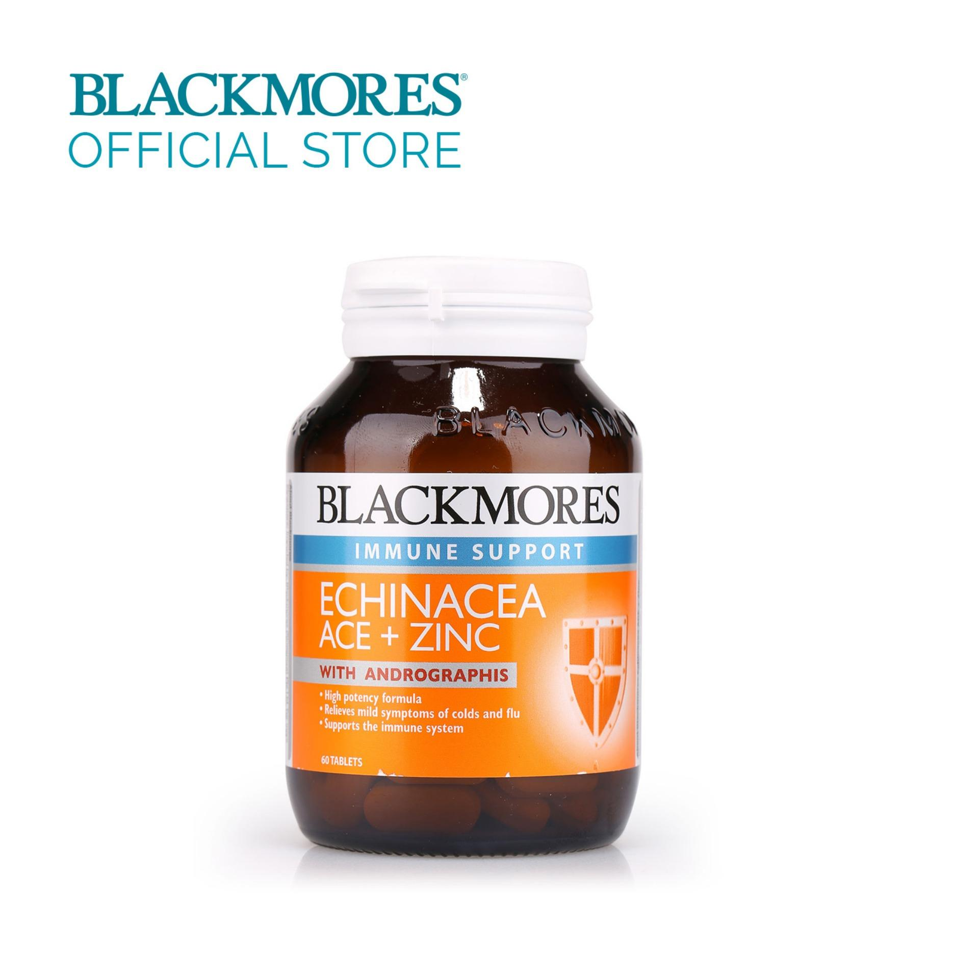 Cheaper Blackmores Echinacea Ace Zinc 60Tabs