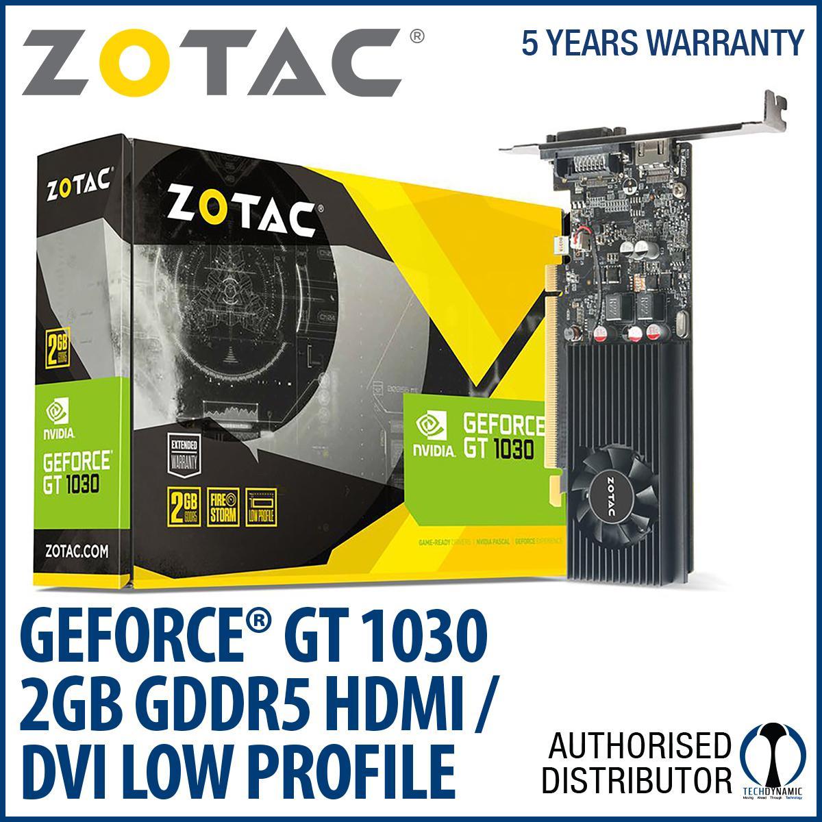 Buy Cheap Zotac Geforce® Gt 1030 2Gb Gddr5