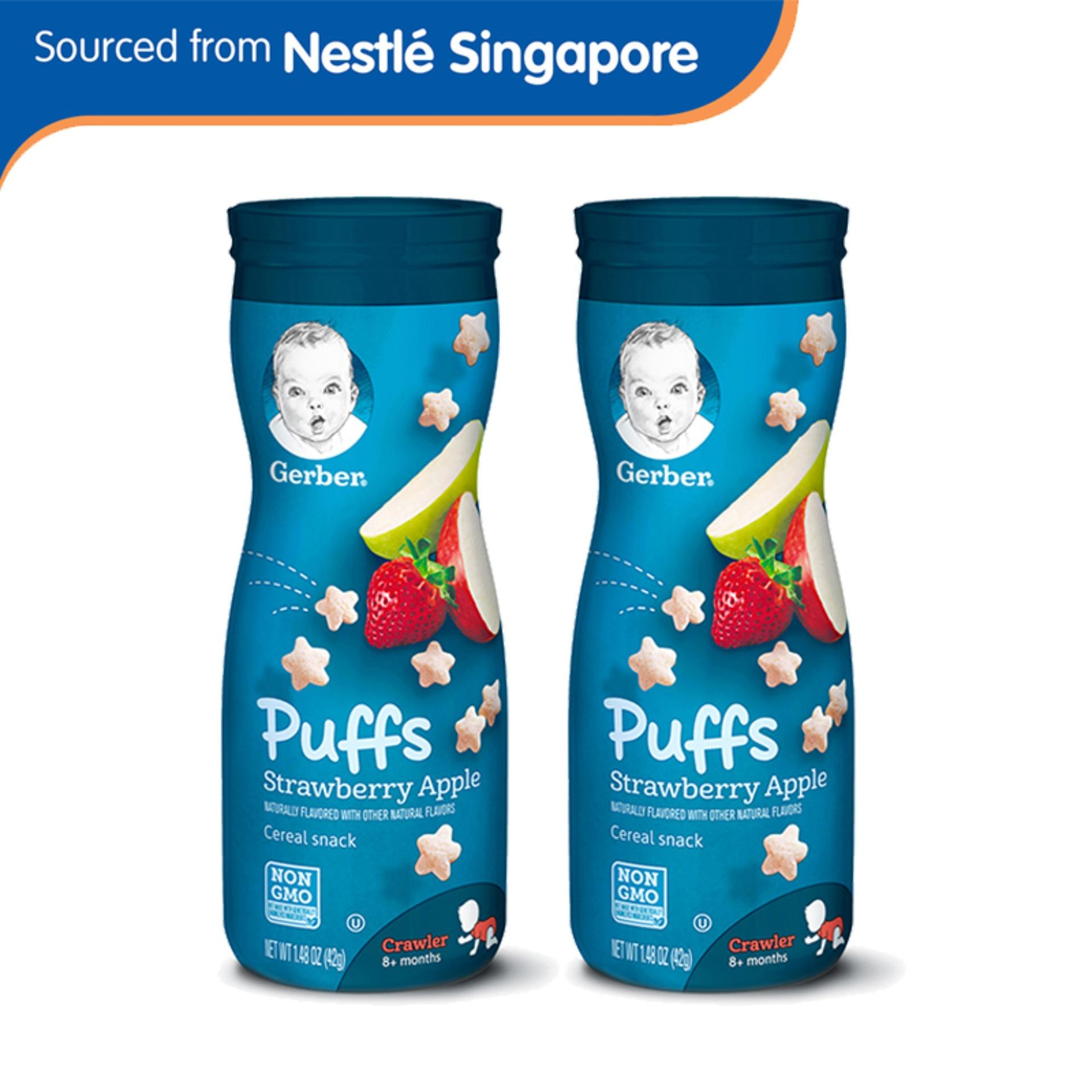 Where Can I Buy Gerber® Graduates® Puffs Strawberry Apple 42G X 2 Pcs