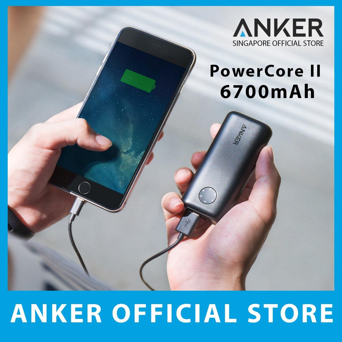 Get The Best Price For Anker Powercore Ii 6700Mah Portable Powerbank