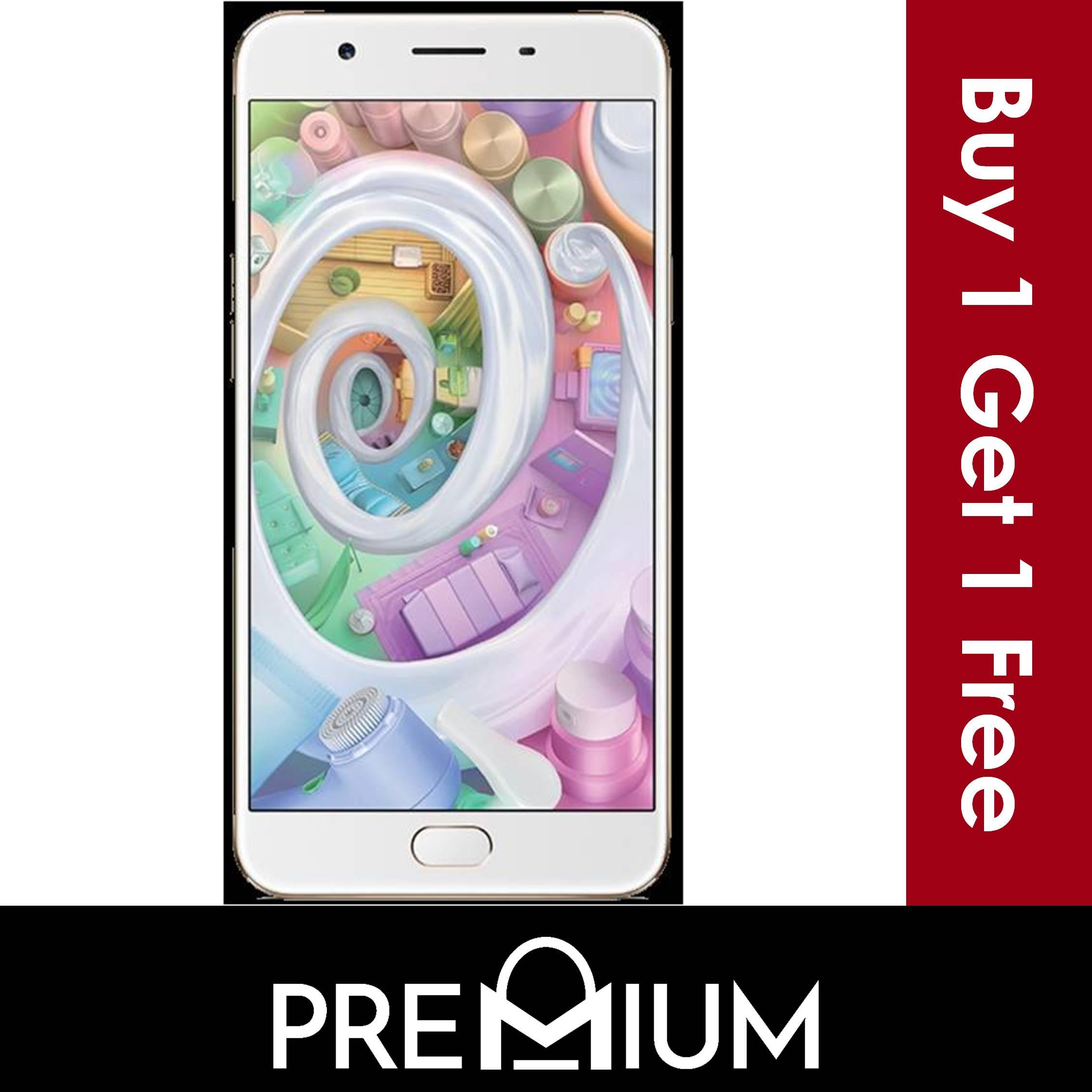 Buy Sell Cheapest Oppo A57 Stylish Best Quality Product Deals Tempered Glass F3 3d Full Cover White Premium Pro 1 Free Screen Protector For R7s A37 A33 F1s